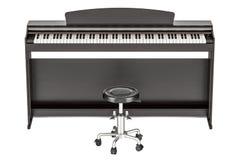 Digitale piano, het 3D teruggeven Royalty-vrije Stock Foto