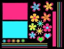 Digitale plakboekreeks Stock Afbeelding