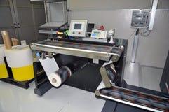Digitale printer voor etiketten Stock Fotografie