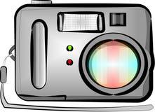 Digitale punt & spruitcamera vector illustratie