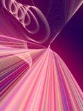 Digitale rassenbarrières abstracte achtergrond het 3d teruggeven Royalty-vrije Stock Afbeeldingen
