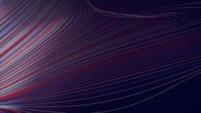 Digitale rassenbarrières abstracte achtergrond het 3d teruggeven Royalty-vrije Stock Foto
