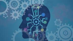 Digitale samenstelling van menselijke hersenen en softwaretoepassingen