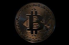 Digitale Schlüsselwährung Bitcoin, digitale Zahlungstechnologie Lizenzfreies Stockbild
