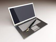 Digitale Schrijver stock illustratie