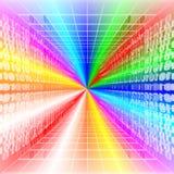 Digitale steeg vector illustratie