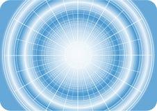 Digitale ster met net vector illustratie