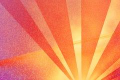 Digitale stralen (sinaasappel) Royalty-vrije Illustratie