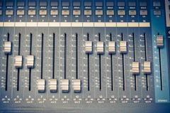 Digitale studiomixer Stock Fotografie