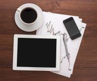 Digitale tablet Stock Afbeelding
