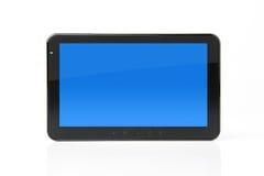 Digitale tablet met het knippen van weg voor het scherm Stock Afbeeldingen