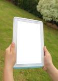 Digitale tablet ter beschikking stock foto's