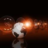 Digitale technologieinterface Royalty-vrije Stock Foto's