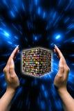 Digitale televisie Royalty-vrije Stock Afbeelding