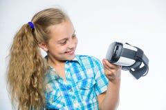 Digitale toekomst en innovatie weinig stock foto