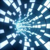 Digitale tunnel Royalty-vrije Stock Fotografie