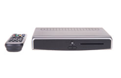 Digitale TV op witte achtergrond Royalty-vrije Stock Foto