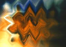 Digitale Uitbarsting vector illustratie