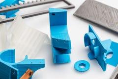 Digitale vervaardiging in product en industrieel ontwerp Royalty-vrije Stock Afbeeldingen