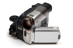 Digitale videocamera stock fotografie