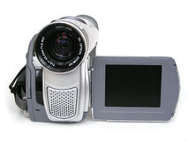 Digitale Videocamera II royalty-vrije stock foto