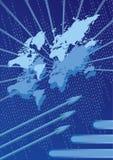 Digitale wereld Royalty-vrije Stock Afbeeldingen