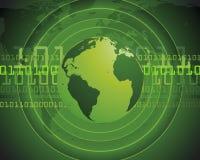 Digitale wereld Stock Afbeeldingen