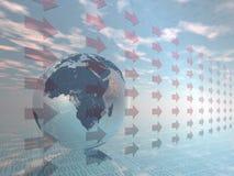 Digitale wereld. vector illustratie