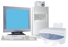 Digitale wereld Stock Foto