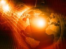 Digitale Wereld Royalty-vrije Stock Foto's
