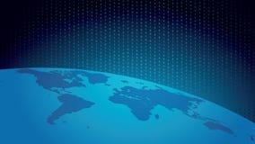 Digitale wereld Royalty-vrije Stock Afbeelding
