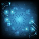 digitale Zusammenfassung der Technologie Lizenzfreies Stockfoto