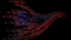 Digitaler Hintergrund des Cybercode-Computers Lizenzfreie Stockfotos