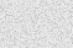Digitaler Steigungshintergrund des Pixels Abstraktes hellblaues Technologiemuster Punktierter Hintergrund mit Kreisen, Punkte, Pu Lizenzfreies Stockbild