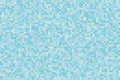 Digitaler Steigungshintergrund des Pixels Abstraktes hellblaues Technologiemuster Punktierter Hintergrund mit Kreisen, Punkte, Pu Stockfotos