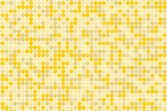 Digitaler Steigungshintergrund des Pixels Abstraktes Technologiemuster Punktierter Hintergrund mit Kreisen, Punkte, Punktkleiner  Lizenzfreies Stockfoto