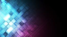 Digitaler Websitetitel der abstrakten Technologie Grüner Hintergrund Lizenzfreie Stockfotografie