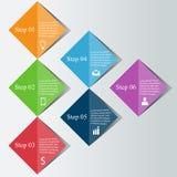 Digitales Konzept Infographics Stockbilder