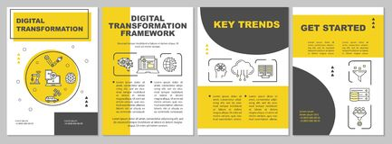 Digitalization brochure template