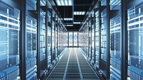 Digitalization of Information Flow Moving Through Rack Servers in Data Center