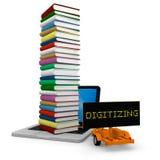 Digitalizzazione Fotografie Stock Libere da Diritti