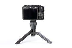 Digitalkamera auf Stativ Lizenzfreie Stockbilder