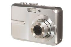 Digitalkamera auf Weiß Lizenzfreie Stockbilder