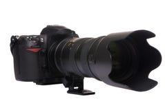 Digitalkamera DSLR (großes Glas) Lizenzfreies Stockfoto