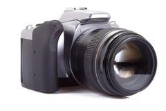 Digitalkamera getrennt auf Weiß Stockfoto