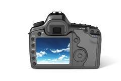 Digitalkamera-Reflex Lizenzfreie Stockfotografie