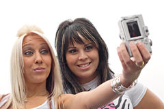Digitalkamera-Spaß Stockbild