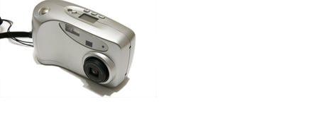 Digitalkameraweb-Fahne Lizenzfreies Stockfoto