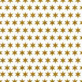 Decorative Golden Glitter Star Paper. A digitally created metallic gold glitter starry background design Royalty Free Stock Photography