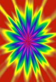 Digitally created vivid colored abstract background. Like a flower illustration Royalty Free Stock Photos